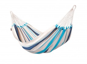 Single-Hängematte CARIBEÑA aqua blue