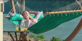 Hängematte Hawaii - Urlaubsfeeling für Zuhause im Garten