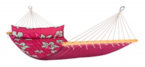 Doppel-Stabhängematte HAWAII hibiscus